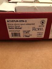 Rohl Arcana Widespread Bathroom Faucet AC107LM-STN-2