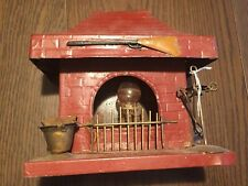 Folk Art - Hand Made Metal Fireplace