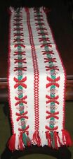 """Vintage Scarf hand woven in Holland, early 1980s. NEW. 8-1/2"""" x 50"""""""