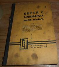 R.G. LeTourneau Super C Tournapull Repair Manual