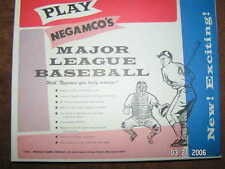 Negamco Major League Baseball Game Mint  Choice of 29 editions