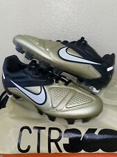 2010 Nike CTR360 Maestri II Metallic Gold Black 429995-910 Soccer Cleats Mens 6