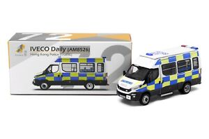 Tiny City Hong Kong 72 1/76 Die-cast Model Car - IVECO Daily Police (Traffic)