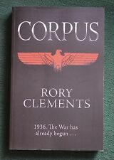 Rory Clements, Corpus. Proof Copy