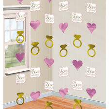 LOVE ALWAYS FOREVER WEDDING ENGAGEMENT PARTY HANGING STRING DECORATION