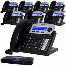 Xblue X16 Small Business 8 Phone System Bundle Six Outside Lines Amp Sixteen Pho