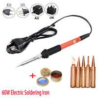 60W Electric Soldering Iron Temperature Adjustable Welding Station Repair Tools