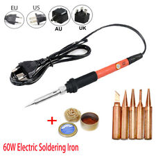 60W Electric Soldering Iron Temperature Adjustable Welding Station Repair Tools