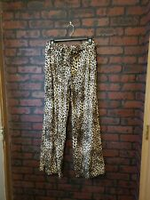 Studio 253 Animal Print Cheetah Pajama Bottom Lounge Pants M