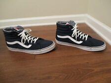 Lightly Used Worn Size 13 Vans OTW Sk8 High Skateboard Shoes Navy White