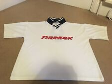 """Thunder """"Thrill of it All"""" Football 1996 Tour T-Shirt Size L - RARE"""