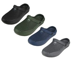 """Men's """"Real"""" Soft Comfortable Hollow Shoes Sizes 7-12 New"""