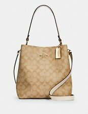 NWT COACH Small Town Bucket Bag In Signature Canvas