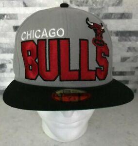 Chicago Bulls - NBA Basketball - New Era 59 Fifty Fitted Hat / Cap - Sz: 7 1/2