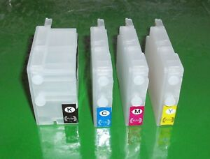 Refillable HP 932 and 933 Cartridges for HP 6100, 6600, 6700, 7110, 7610, 7612