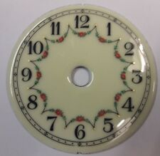 400 DAY/ANNIVERSARY/TORSION CLOCK PRETTY ENAMEL DIAL SMALLER SIZE.