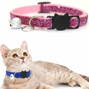 Adjustable Breakaway Kitten Collar Pet Necklace Cat Accessories Cat Collars