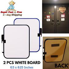 Dry Erase White Board Fridge Magnet Mount Whiteboard Writing Pen Marker Small
