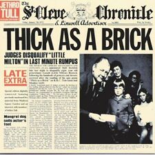 JETHRO TULL THICK AS A BRICK 1 Extra Track plus Interview REMASTERED CD NEW