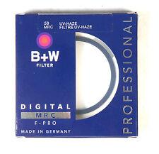 B+W 58mm Mrc UV Haze Protective Filter For Pentax Sony Canon Nikon Olympus Leica