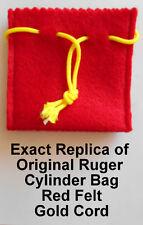 Ruger Felt Cylinder Bag / Pouch Single Six Extra Cylinder, All Centerfires