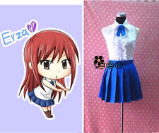 Anime Fairy Tail Erza Scarlet cosplay costume fairy tail natsu dragneel lolita d