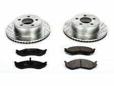 For 1997-2006 Jeep TJ Brake Pad and Rotor Kit Front Power Stop 27937RW 2001 2003