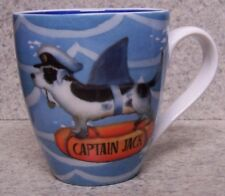 Coffee Mug Animal Dog Captain Jack New Geoff Allen 17 ounce cup with gift box