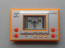 NINTENDO GAME&WATCH SILVER SERIES FLAGMAN FL-02 NEAR MINT CONDITION UNUSED RARE+