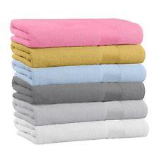 "100% Cotton Large Bath Towels 54"" x 27"" - Multi-Use Soft Bathroom Towels"