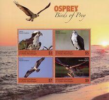 Grenada Grenadines 2018 MNH Osprey Birds of Prey 4v M/S Ospreys Stamps