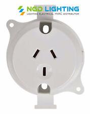 10x Surface Sockets Outlet Plug Base Wholesale Price 10amp 240Volts