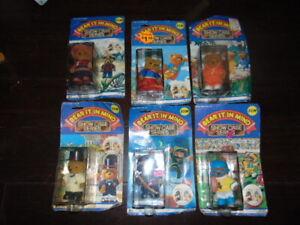 "Lot of 6 Sealed Vintage 1980's ""Bear It In Mind"" Showcase Series Cowboy Groom"