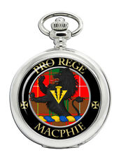 Clan Pocket Watch Macphie Modern Scottish