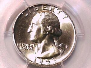 1953 D Washington Quarter PCGS MS 64 38463042