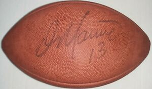 Dan Marino UDA Upper Deck Authenticated Signed Football Autographed Dolphins COA