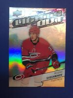 2018-19 Upper Deck Overtime Lights Out RC #LO-5 Andrei Svechnikov Insert Rookie