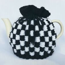 TEA COSY, Hand Knitted, Vintage Style, Large Tea Pot Cosy, Gift, Present, Retro