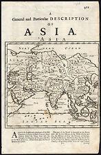 Antique Map-ASIA-TARTARY-SIBERIA-RUSSIA-CHINA-INDONESIA-1700