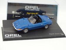Ixo Presse 1/43 - Opel Aero GT 1969  Bleue