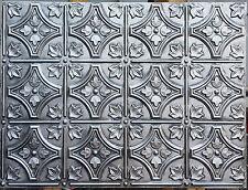 PLB-10 faux antique tin ceiling tile aged 3D embossed ceiling panels 10tile/lot