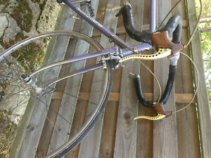 Vélo ancien PEUGEOT STRONGLIGHT CAMPAGNOLO SIMPLEX GOLD ARTUS made in France PX
