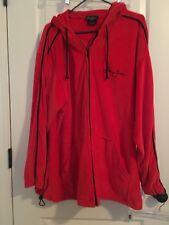 Sean John Men's Velvet Velour Hooded Track Jacket Sz XL MultiColor Clothes
