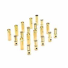 4mm Gold Bullet Connector Set (10) by Dynamite DYNC0087
