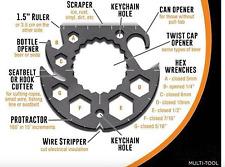 Multi Function Tool Repair Survival Camping Hiking Travel Bicycle Motorcycle Hex