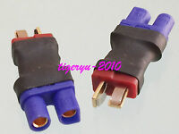 1pce EC3 female to T Plug Deans male No wire adapter for LiPo Battery