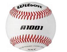 Wilson A1001 College Level Stamped Baseballs (1 dozen)