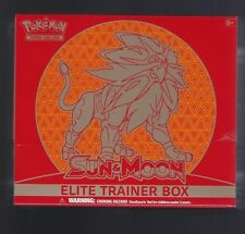 Sun and Moon Elite Solgaleo Trainer Box - Pokemon TCG