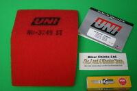 HONDA XR100R XR100 XR80R XR80 100 80 TUNE UP KIT AIR FILTER /& SPARK PLUG CR7HSA