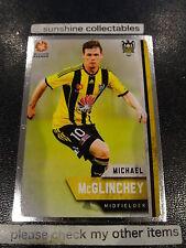 2015/16 TAP N PLAY A-LEAGUE SILVER CARD NO.177 MICHAEL McGLINCHEY